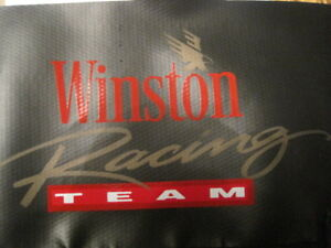 Vintage Dirt Trax Winston Racing Team Tailgate Net