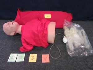 Simulaids Aj Cpr Training Manikin First Aid Adult Patient Simulator Torso New
