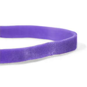 Cwc 61 Rubber Bands 2 X 1 4 Purple Compound pack Of 25 Bag