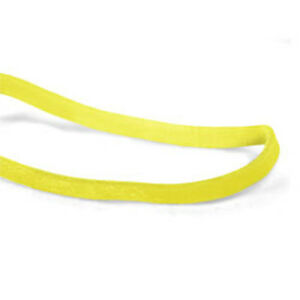 Cwc 18 Rubber Bands 18 3 X 1 16 Yellow Crepe pack Of 25 Bag