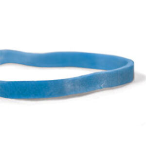 Cwc 31 Rubber Bands 2 1 2 X 1 8 Blue Compound pack Of 25 Bag