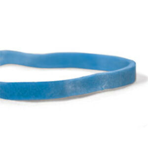Cwc 33 Rubber Bands 3 1 2 X 1 8 Blue Compound pack Of 25 Boxes