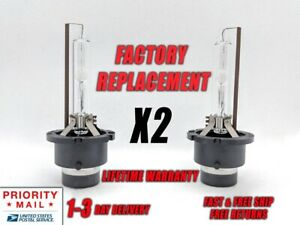 Front Hid Xenon Headlight Bulb For Lexus Gs350 2007 2011 Low Beam Stock Fit Qty2