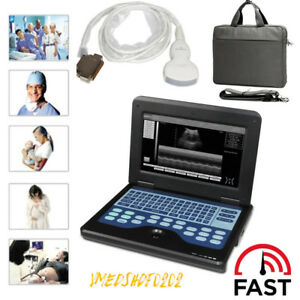 Fda Contec Portable Laptop Ultrasound Scanner Diagnostic Machine 3 5convex Probe