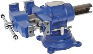 Yost Vises 750 di 5 Heavy duty Multi jaw Rotating Combination Pipe And Bench