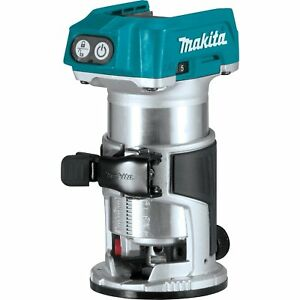Makita Xtr01z 18v Lxt Lithium ion Brushless Cordless Compact Router