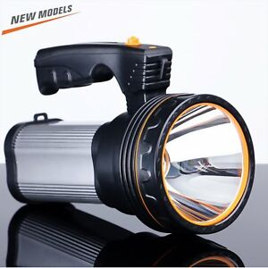 Romer Led Rechargeable Handheld Searchlight High power Super Bright 9000 Ma 6000