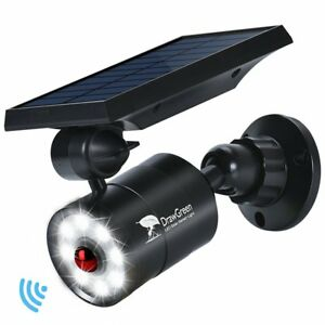 Solar Lights Outdoor Motion Sensor 1400 lumens Bright Led Spotlight 5w 110w