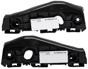 New Front Lh Rh Side Bumper Support Bracket Set For 09 10 Toyota Corolla