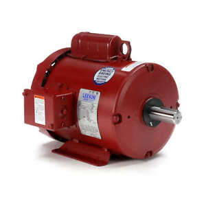 2 Hp 1725 Rpm 115 230v Leeson Farm Duty Electric Motor Tefc new