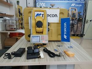 Topcon Gpt 9005a 5 Reflectorless Robotic Total Station Used