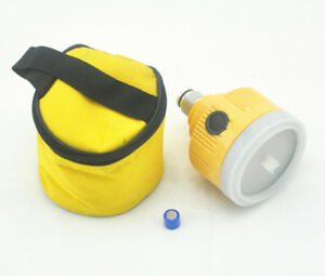 New Yellow Single Prism With Lamp 5 8 For Total Station Light