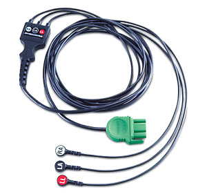 Physio Control 3 lead Ecg Cable For Lifepak 1000 Aed 11111 000016 Tested