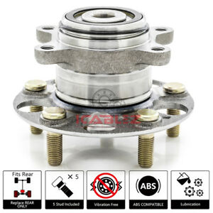 Rear Wheel Hub Bearing Asssembly Replacement For 2012 Honda Civic Ex Exl Hf New