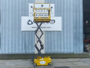 2007 Jlg 260mrt Dual Fuel Rough Terrain Scissor Lift