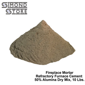 Fire Bricks Refractory Cement Mortar 50 Alumina Accoset 50 10 Lbs