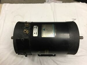 Thermo King Double Shaft Electric Motor 104 0323 27vdc 1 4 Hp 1725 Rpm