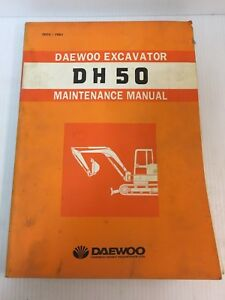 Dh50 Daewoo Excavator Maintenance Service Manual