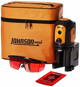 Johnson 40 6680 Self leveling Five Beam Dot Laser Rotary Lasers Levels Surveying