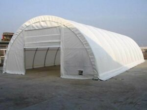 Steel Framed Building Round Storage Building Farm Shed Portable Workshop Shelter