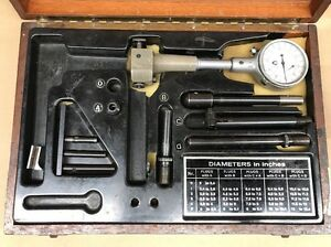 Swiss Interapid Compac 2 12 Dial Bore Gage Set With Case