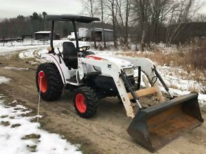 2013 Bobcat Ct335 38hp Compact Utility Tractor