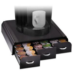 Mind Reader Anchor Triple Drawer Single serve Coffee Organizer