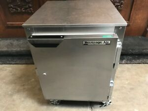 1 Door Under Counter Refrigerator Beverage air Ucr20 7466 Commercial Cooler