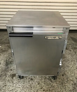 20 Under Counter Refrigerator Beverage Air Ucr20 7423 Commercial Cooler Nsf