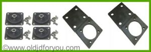 Am640t Am298t Radiator Mount Kit With Brackets John Deere M 40 320 And More