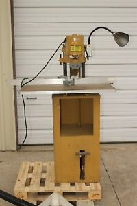Challenge Machinery Paper Drill Punch Franklin Electric Graphic Arts Equipment