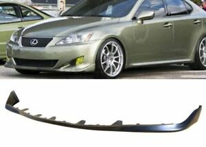 For 06 08 Lexus Is250 Is350 Oe Style Pu Black Poly Front Bumper Lip Body Kit