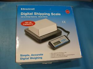 Brecknell Ps150 Digital Shipping Scale