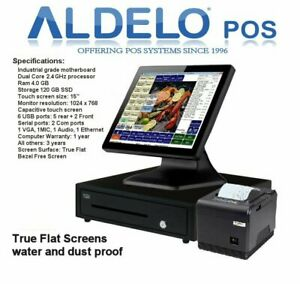 Aldelo Pos Software All In One Hardware Aldelo 101 New