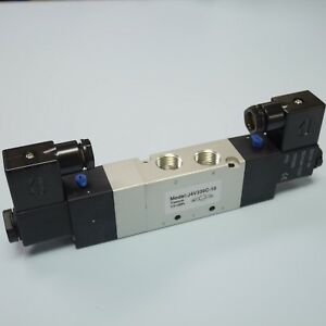 3 8 5 3 Way Electric Control Solenoid Valve Double Coil 4v330c 10 Dc12v