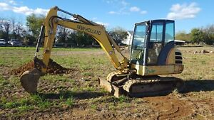 New Holland Ec 45 Mini Excavator
