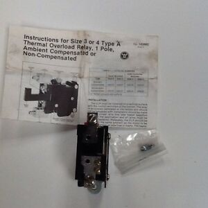 Thermal Overload Relay 601548 0075