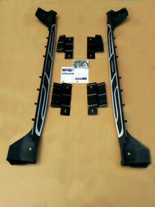 For 11 17 Jeep Grand Cherokee Running Board Side Step Nerf Bars Oe Style Pair