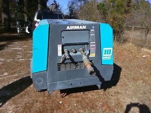 Airman Pds 185s Towable Air Compressor