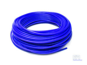 Hps 4mm Full Silicone Coolant Air Vacuum Hose Line Pipe Tube X 50 Feet Blue