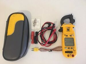 Uei Phoenix Ii Dl279 Clamp Multimeter With Leads And Case Great Condition