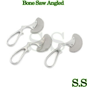 3 Pcs Surgical Angled Bone Saw 6 Orthopedic Veterinary Upgraded Instruments