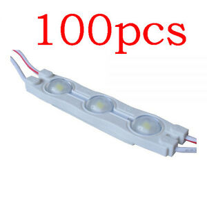 Smd 2835 Waterproof Led Module 3 Led Chips For Internal Illumination Of Signs