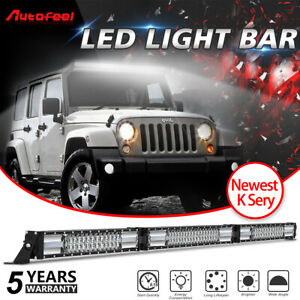 Autofeel 22inch 480w Led Work Light Bar Offroad Suv Atv Car Pk 20 24 25 30