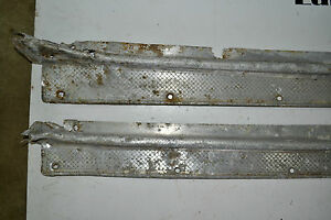 1946 47 Cadillac 2 Door And Others Sill Plates Pair