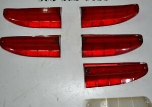 1960 Oldsmobile 88 98 And Others Tail Light And Park Light Lenses