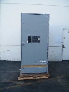 Kohler Automatic Transfer Switch Zcs 566641 3000 3000 Amp 480 Volt