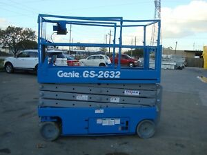 Genie Gs2632 Year 2007 Scissor Lift 26 H X 32 W