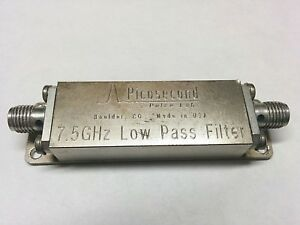 Pulse Labs Picosecond 7 5 Ghz Low Pass Filter 5915 100 7 5ghz