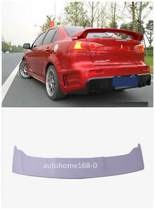 Deflector Factory Style Spoiler Wing For 2011 2016 Mitsubishi Lancer Spoiler